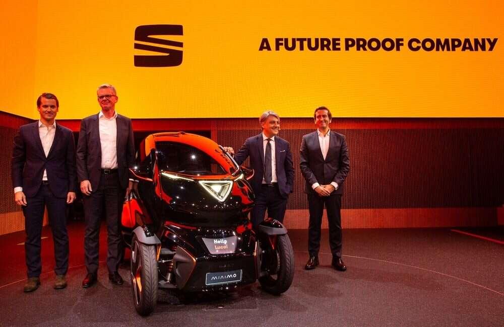 Elektryczne Minimó z łącznością 5G ujawnia wizję Seata na miejskie samochody