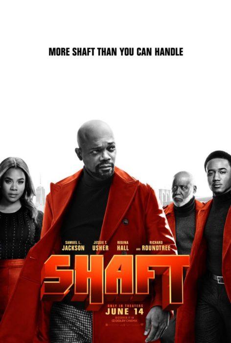 Pierwszy plakat Shaft