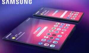 Składany Samsung Galaxy F na nowych renderach