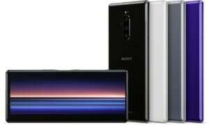 Sony prezentuje Xperię 1