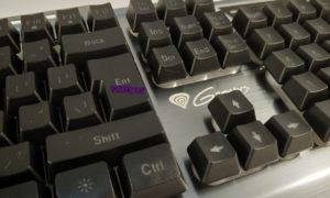Test taniej klawiatury Genesis Rhod 420 RGB