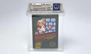 To wydanie Super Mario Bros. sprzedano za rekordową sumę pieniędzy!