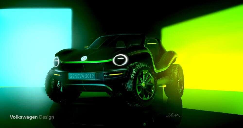Volkswagen przypomniał o sobie elektrycznym konceptem klasycznego buggy