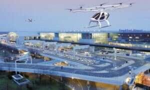 Startup Volocopter spróbuje rozwiązać problem trapiący latające taksówki z frankfurckim lotniskiem