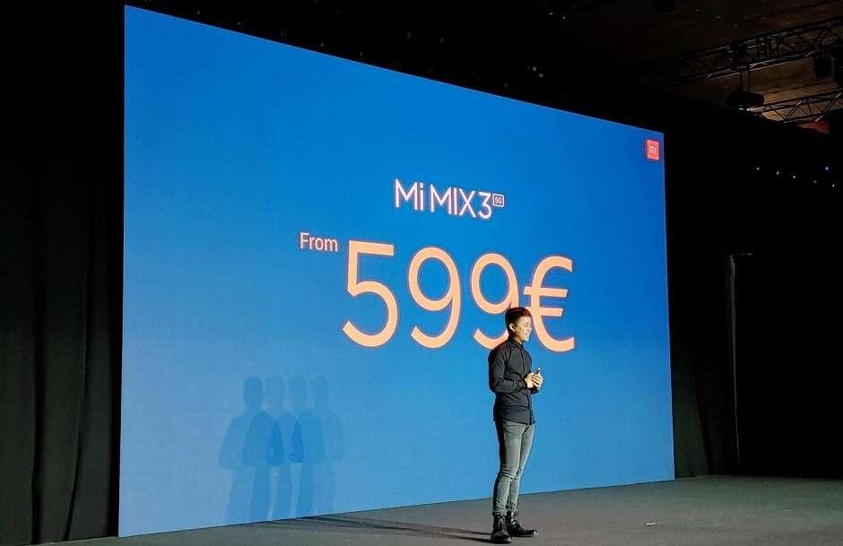 Mi Mix 3 5G, specyfikacja Mi Mix 3 5G, cena Mi Mix 3 5G, parametry Mi Mix 3 5G, premiera Mi Mix 3 5G, xiaomi Mi Mix 3 5G