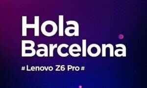 Lenovo na MWC zaprezentuje model Z6 Pro