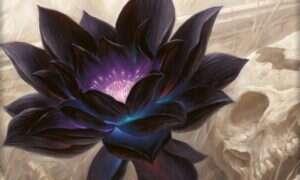 Karta Czarny Lotos z Magic: The Gathering sprzedana za majątek
