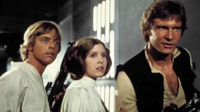 Tak mogłoby wyglądać spotkanie Luke'a i Hana Solo w nowej trylogii Gwiezdnych Wojen