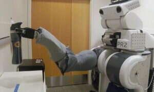 Ten robot pomaga osobom z zaburzeniami motoryki ciała