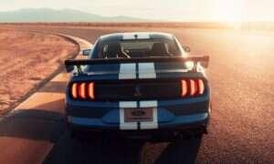 Ford Mustang Shelby GT500 2020 z ograniczeniem do 290 km/h