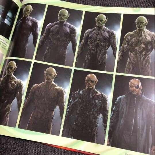 Grafiki koncepcyjne z Kapitan Marvel ujawniają spory spojler?
