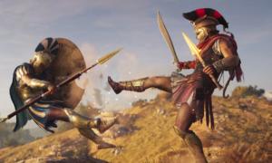 """Assassin's Creed Odyssey otrzymało """"miecz z E3"""" – gracze doczekali się upragnionej broni"""