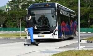Autonomiczny autobus Volvo zacznie swoją przygodę na uniwersytecie w Singapurze