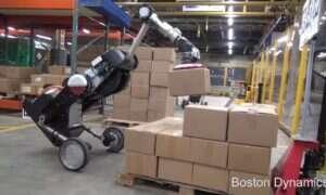 Robot Handle od Boston Dynamics zachwyca swoimi ruchami w magazynie
