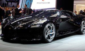 La Voiture Noire od Bugatti z tytułem najdroższego na świecie nowego samochodu