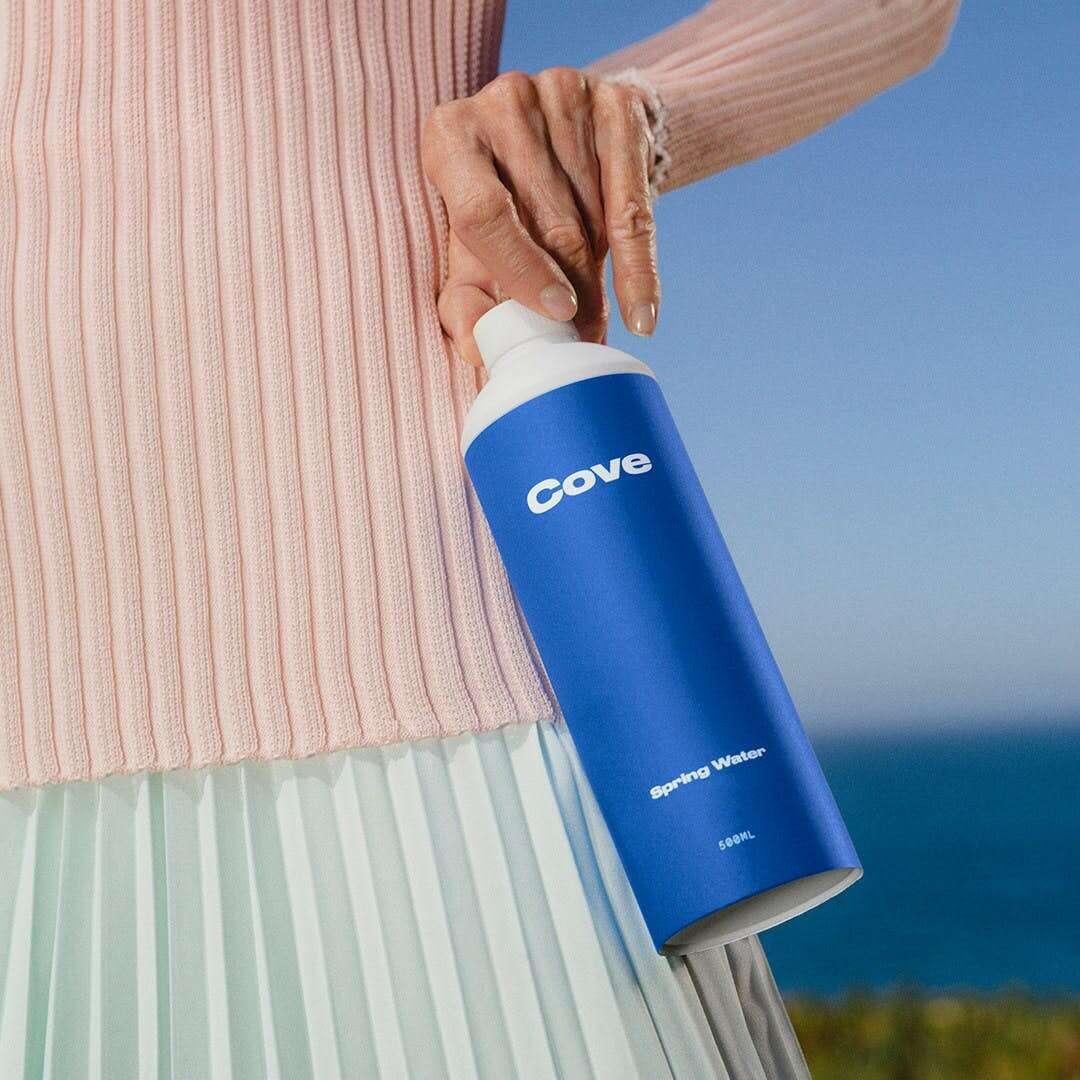 Cove, butelka Cove, butelka na wodę, cove woda, butelka na wodę cove, biodegradowalna butelka