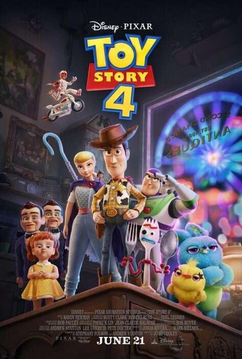 Pełny zwiastun Toy Story 4
