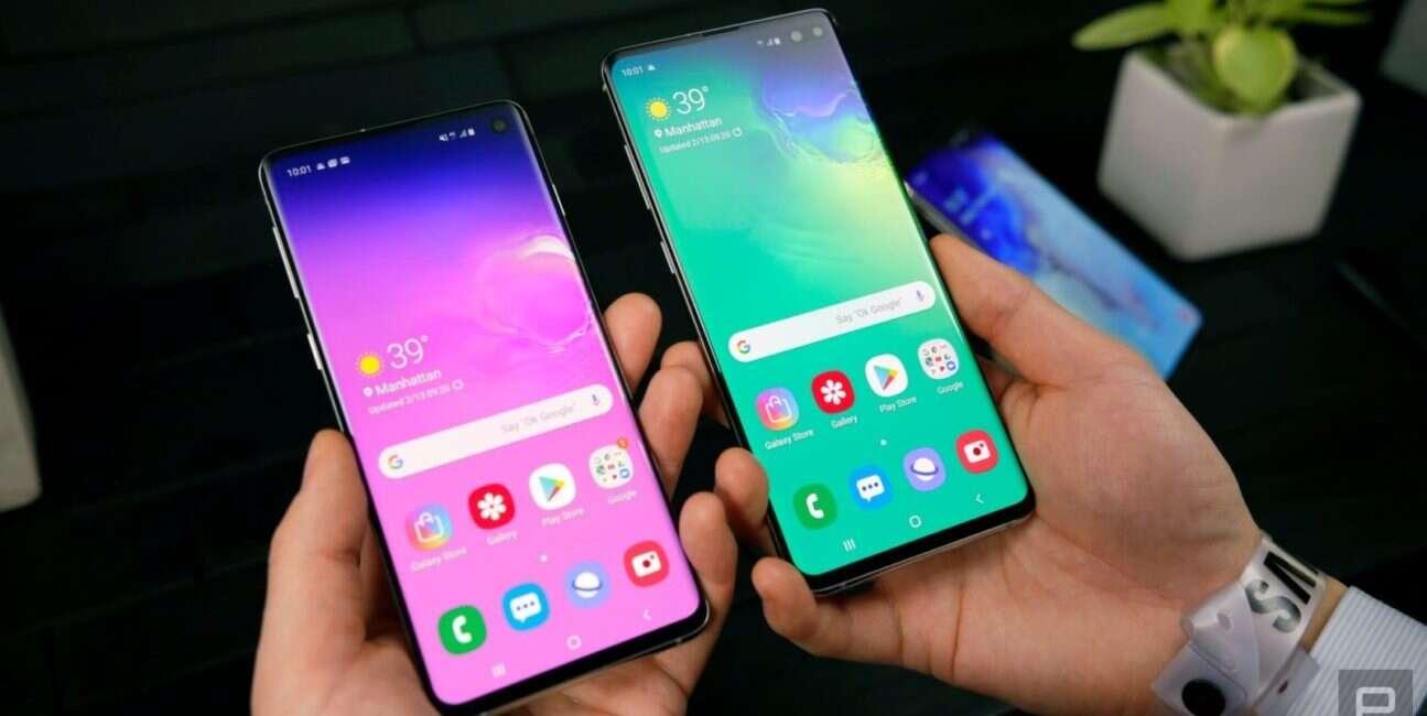 Galaxy S10, ekran Galaxy S10, wyświetlacz Galaxy S10, ochraniacz ekranu Galaxy S10