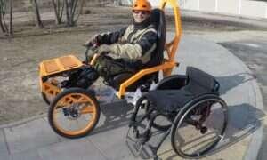 Elektryczny Mountain Cart pozwala niepełnosprawnym podbić trudny teren