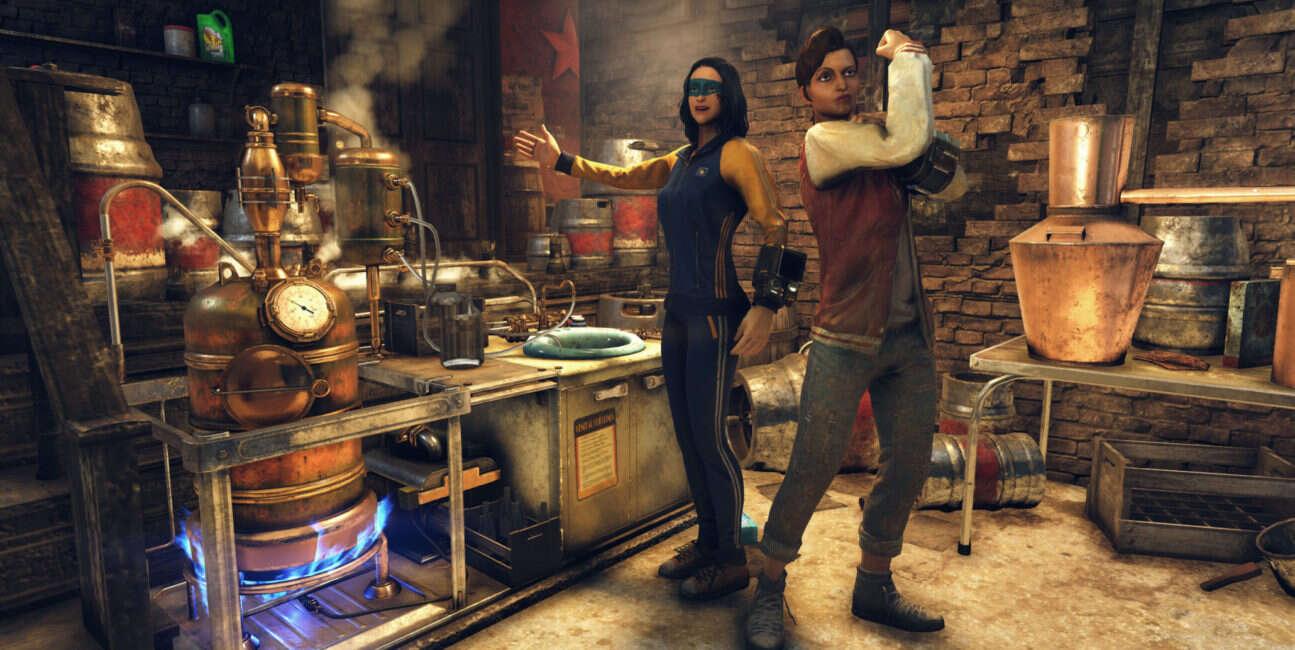 Fallout 76 wkrótce z wysokoprocentowymi trunkami