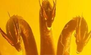 Godzilla i Gidorah na najnowszym plakacie