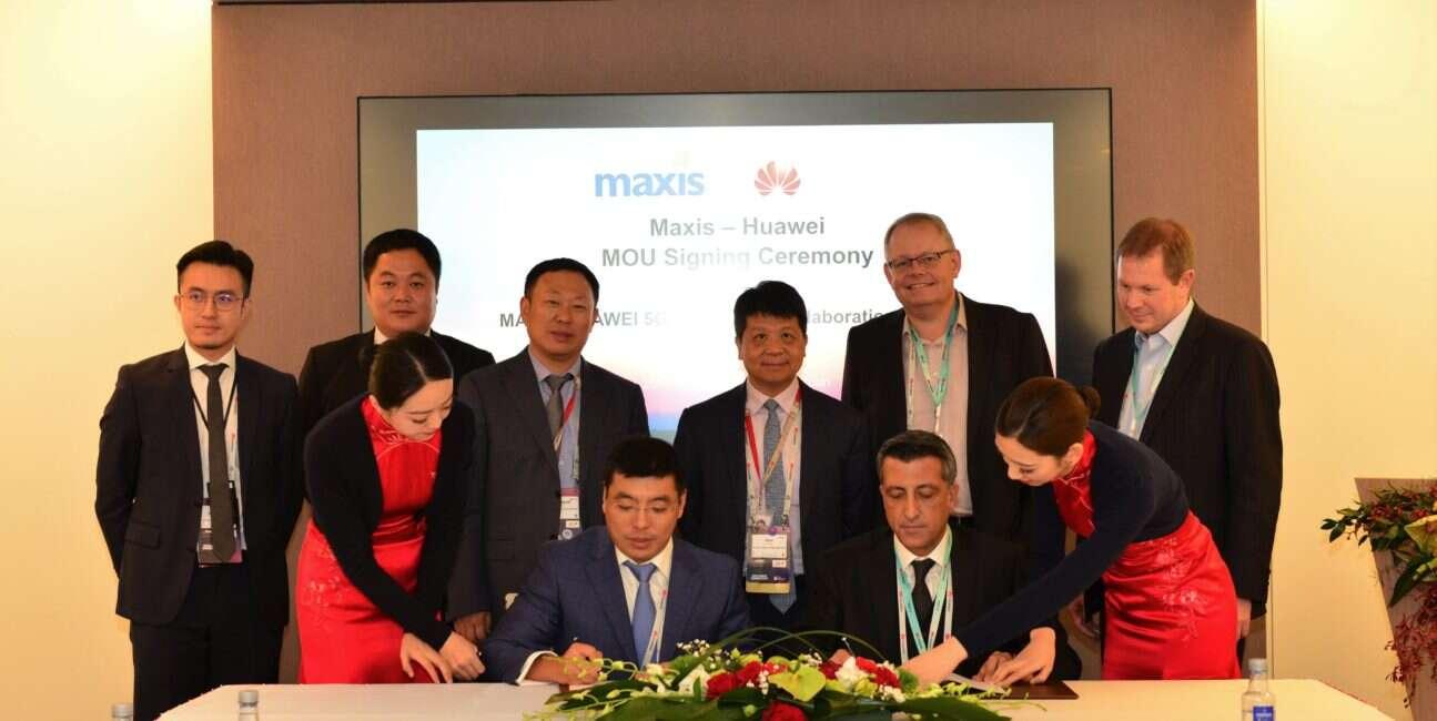 Maxis i Huawei CEO, umowa Maxis i Huawei, 5G Maxis i Huawei, sieć 5G Maxis i Huawei, malezja Maxis i Huawei