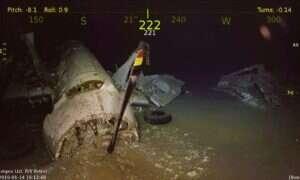 Zatopiony lotniskowiec USS Wasp z czasów II Wojny Światowej odnaleziony