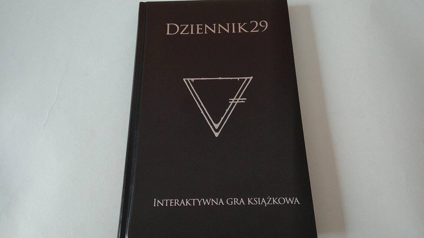 Dziennik 29 okładka