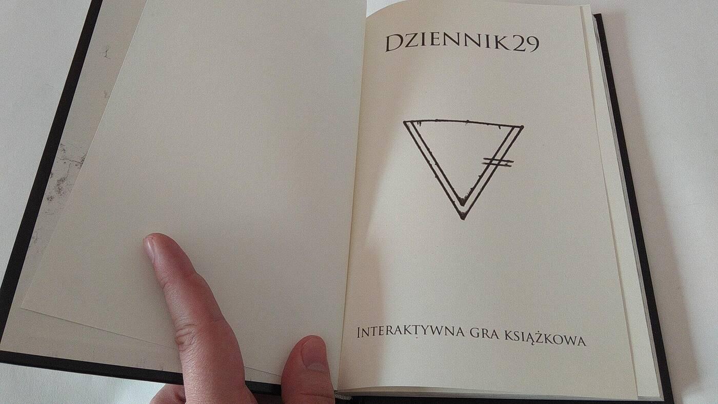 Dziennik 29 1 strona