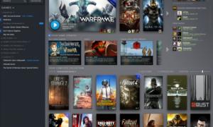 Nowy wygląd biblioteki Steam