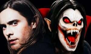 Jared Leto na zdjęciu zza kulis Morbiusa
