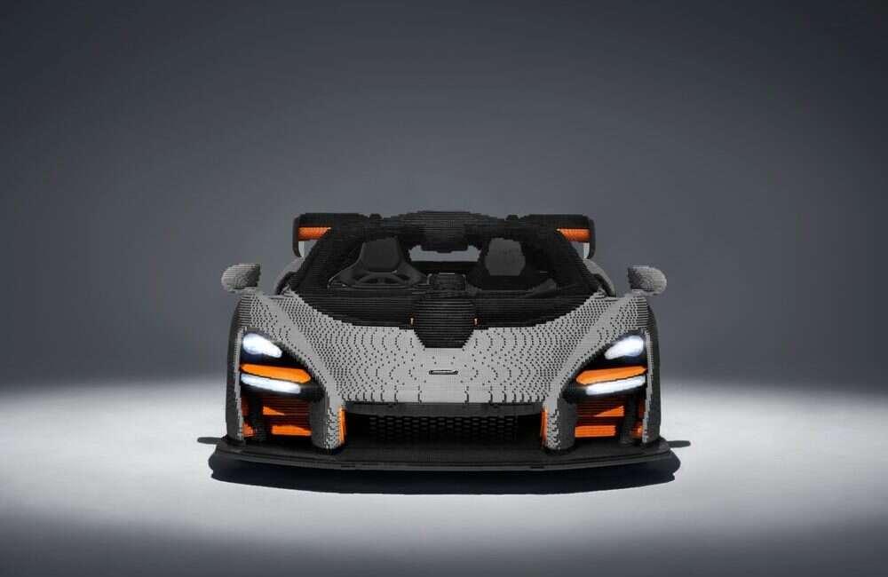 Replika samochodu McLaren Senna z klocków lego
