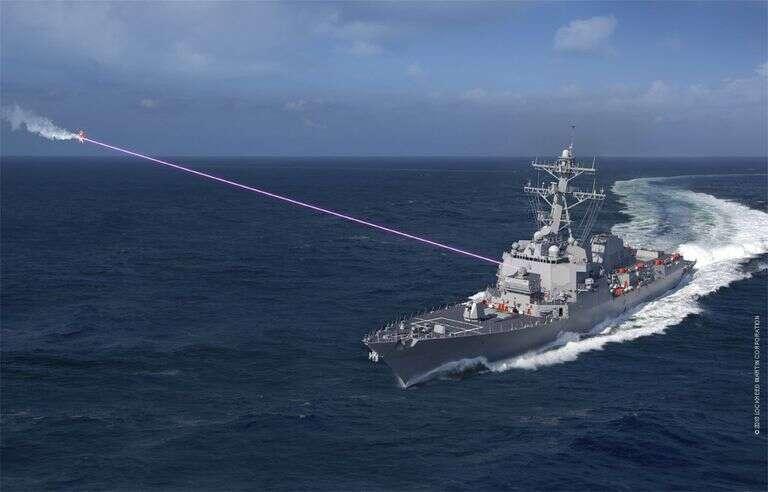 Broń laserowa HELIOS ma zawitać na pokład niszczyciela USA