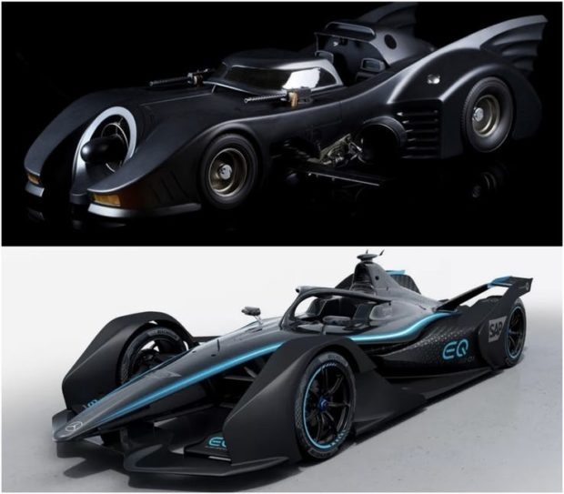 Nowy wyścigowy Mercedes to właściwie Batmobil