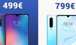 Xiaomi twierdzi, że cena Huawei P30 jest niczym nieuzasadniona