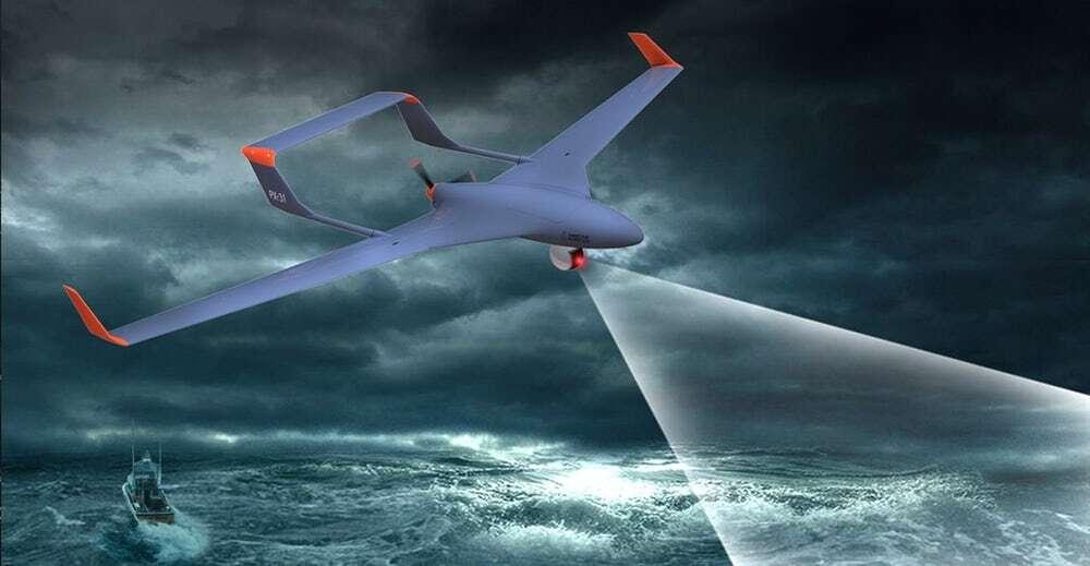 Nowy system rozwiązuje problem przejmowania stałopłatowych dronów