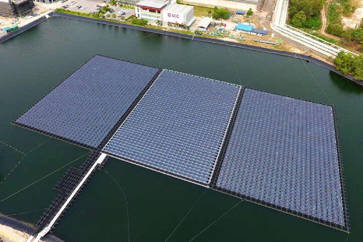 Elektrownie słoneczne na tamach i zbiornikach wodnych w planach tajwańskiej firmy