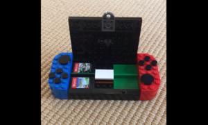 Schowek na gry Nintendo Switch z LEGO – jak go zbudować?