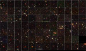 Astronomowie odkryli 100 supermasywnych czarnych dziur sprzed miliardów lat