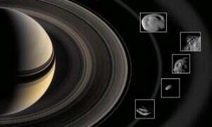 Wokół Saturna powstają tajemnicze księżyce