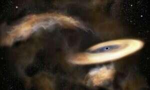 Naukowcy zaobserwowali ukrytą czarną dziurę