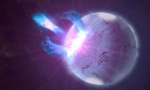 Uśpiony magnetar obudził się po dekadzie ciszy