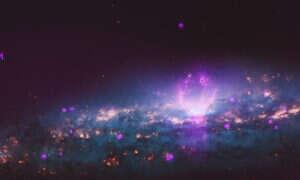 Dwa kosmiczne bąble wystrzeliwują w kierunku Ziemi potężne cząstki