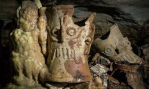 Pod ruinami cywilizacji Majów znajduje się tajemnicza jaskinia