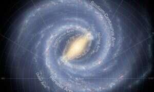Gwiazda hiperprędkościowa wskazuje na obecność ukrytej czarnej dziury w Drodze Mlecznej
