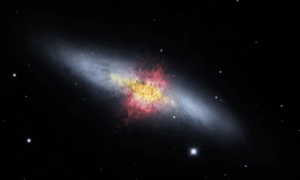 Naukowcy określili masę wiatru w galaktyce oddalone o prawie 12 milionów lat świetlnych