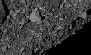 Powierzchnia asteroidy Bennu może powodować trudności w zbieraniu próbek