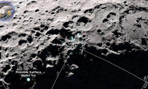 Woda na Księżycu przemieszcza się wraz ze zmianami temperatur