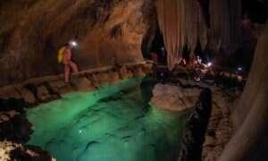 Naukowcy natrafili na nowy gatunek skorupiaków w tej niesamowitej jaskini