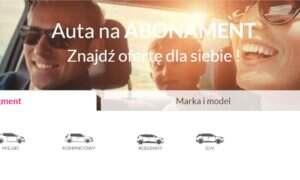 Qarson wchodzi do Polski z autami na abonament